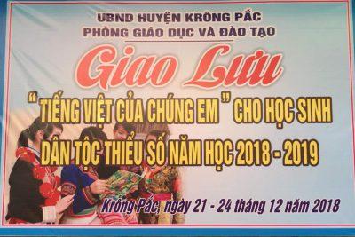 Thay mặt nhà trường xin chân thành cảm ơn đội thi Giao lưu tiếng Việt của chúng em , cảm ơn sự nỗ lực của thầy và trò, cảm ơn sự hợp tác của quý bậc phụ huynh, cảm ơn các học trò yêu nhé các em rất tuyệt vời!