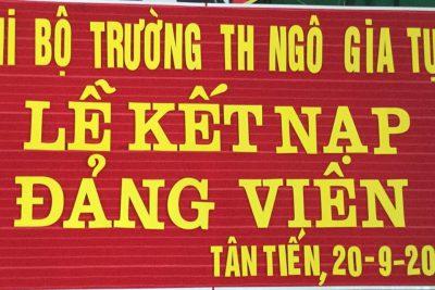 Chúc mừng đồng chí Mai Thị Thu Thảo!