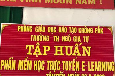 Sự học là mãi mãi! Nhà trường xin chân thành cảm ơn  anh Tuấn, anh Lương, anh Thống – VNPT đã nhiệt tình hướng dẫn!