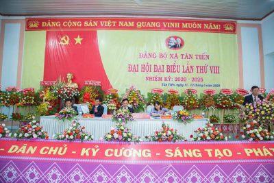 Chúc mừng Đại hội Đảng bộ xã Tân Tiến lần thứ VIII; nhiệm kỳ: 2020-2025 thành công rực rỡ!