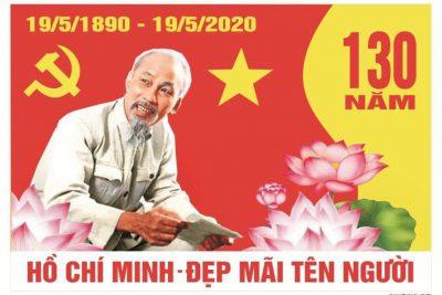 Hồ Chí Minh  đẹp mãi tên Người!