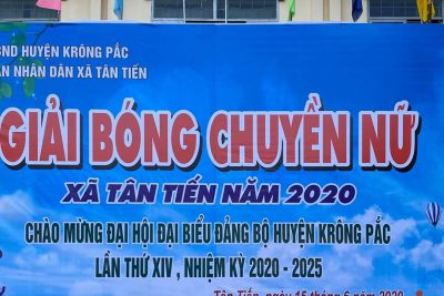 Từng bừng các hoạt động TDTT chào mừng Đại hội Đại biểu Đảng bộ huyện nhà của xã Tân Tiến!