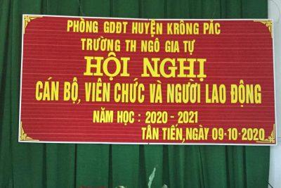Hội nghị công nhân viên chức 2020- 2021