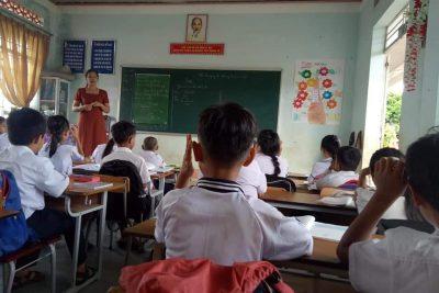 Các hoạt động thao giảng dự giờ năm học 2020- 2021