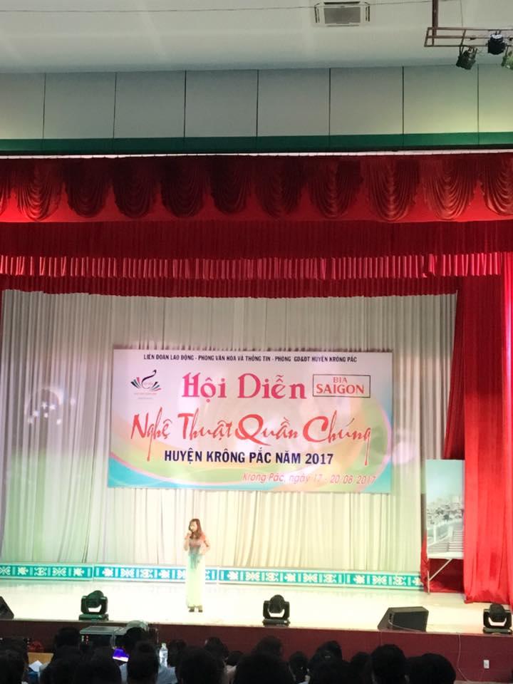 Hội diễn nghệ thuật quần chúnghuyện Krông Păc năm 2017