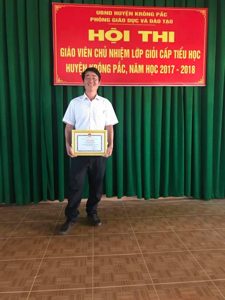 Hội thi GVCN giỏi cấp huyện năm 2017-2018