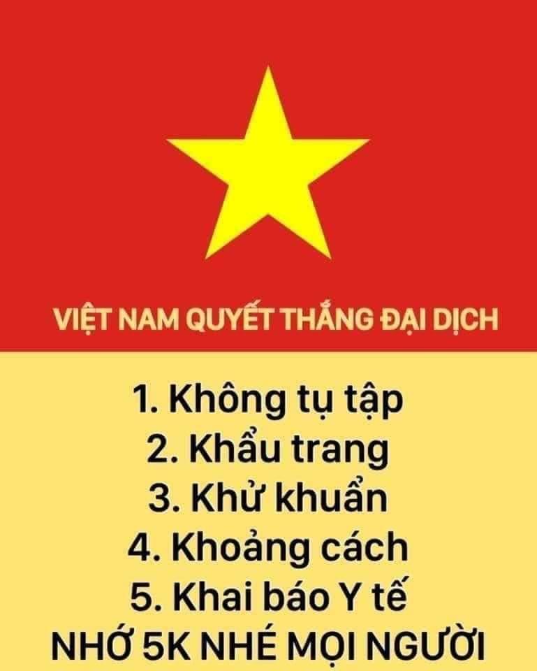 Việt Nam quyết thắng đại dịch.
